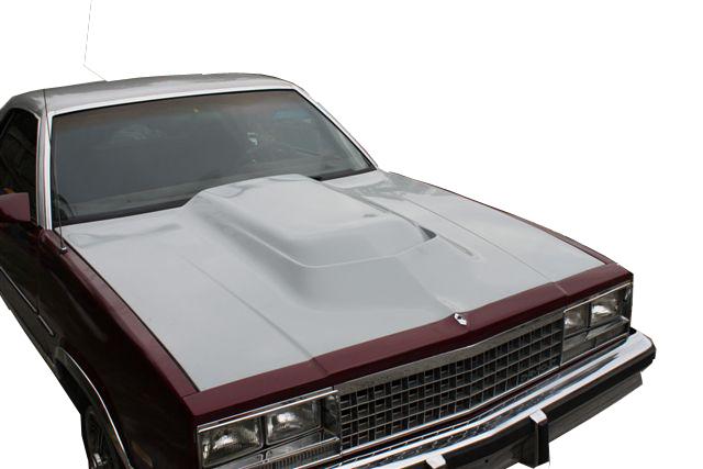 El Camino L Hood on 1985 Chevy Malibu