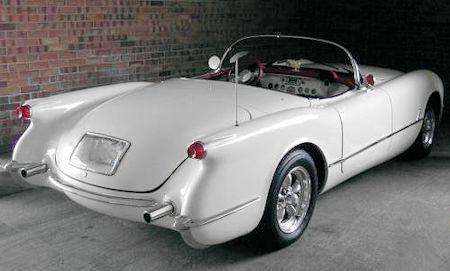 Chevy Corvette Rear End 1953 1955 American Sports Car