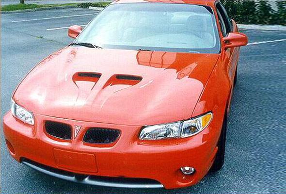 Pontiac Grand Prix Hood 1997-2003, Ram Air - American Sports Car