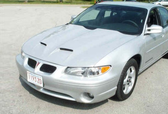 pontiac grand prix hood 1997 2003 ram air f1 style american sports car. Black Bedroom Furniture Sets. Home Design Ideas