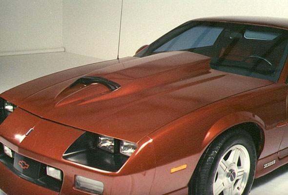 Camaro Big Blook Hood 1982 1992 American Sports Car