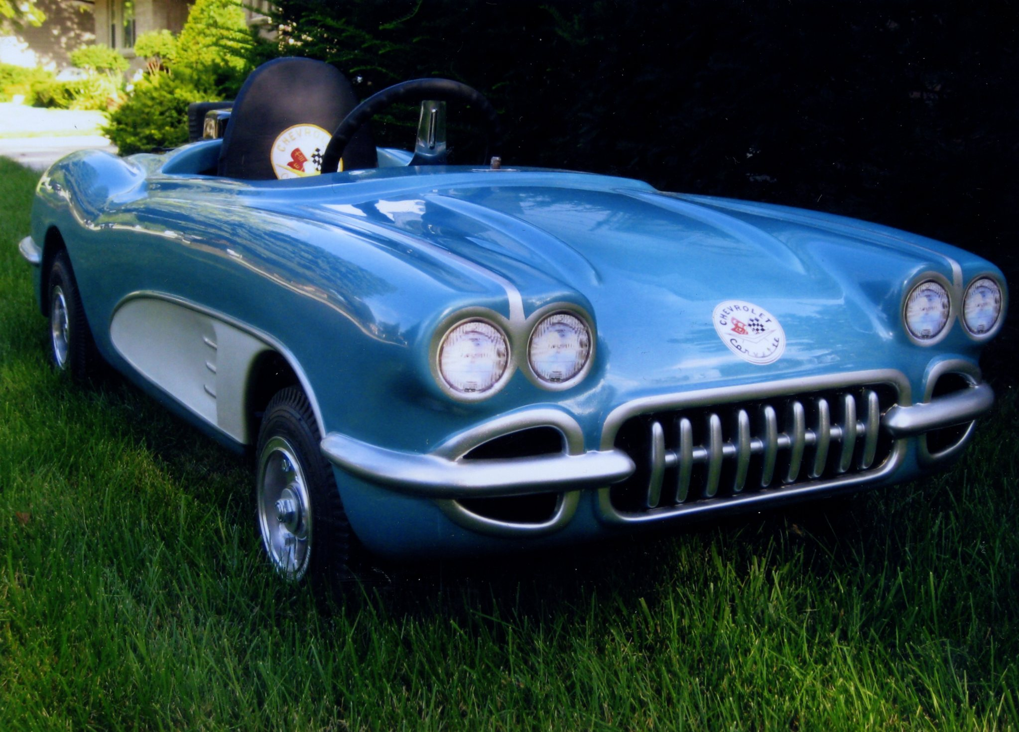 Chevy Corvette Kart Body 1958