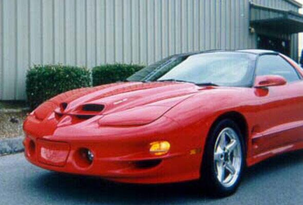 pontiac trans am firebird hood 1998 2002 ram air ws 6 american sports car. Black Bedroom Furniture Sets. Home Design Ideas