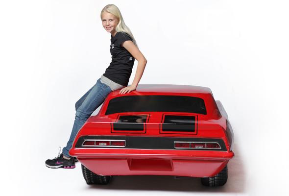 Chevy Camaro Kart Body 1969
